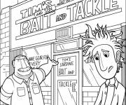 Coloring pages Sardine store