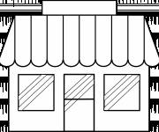 Coloring pages Single store