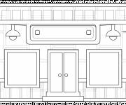 Coloring pages Stylish easy store