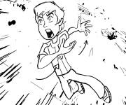 Coloring pages The Angry Boy