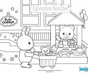 Coloring pages Toy store
