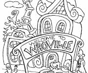 Coloring pages WhoVille Store