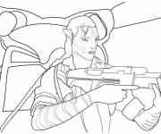 Free coloring and drawings Movie weapons Coloring page