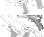 Free coloring and drawings Nerve gun Coloring page