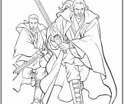 Free coloring and drawings Star Wars weapons Coloring page