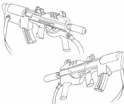 Coloring pages War weapon