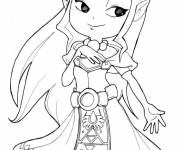 Coloring pages The serie The Legend of Zelda