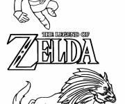 Coloring pages Toon Link Online