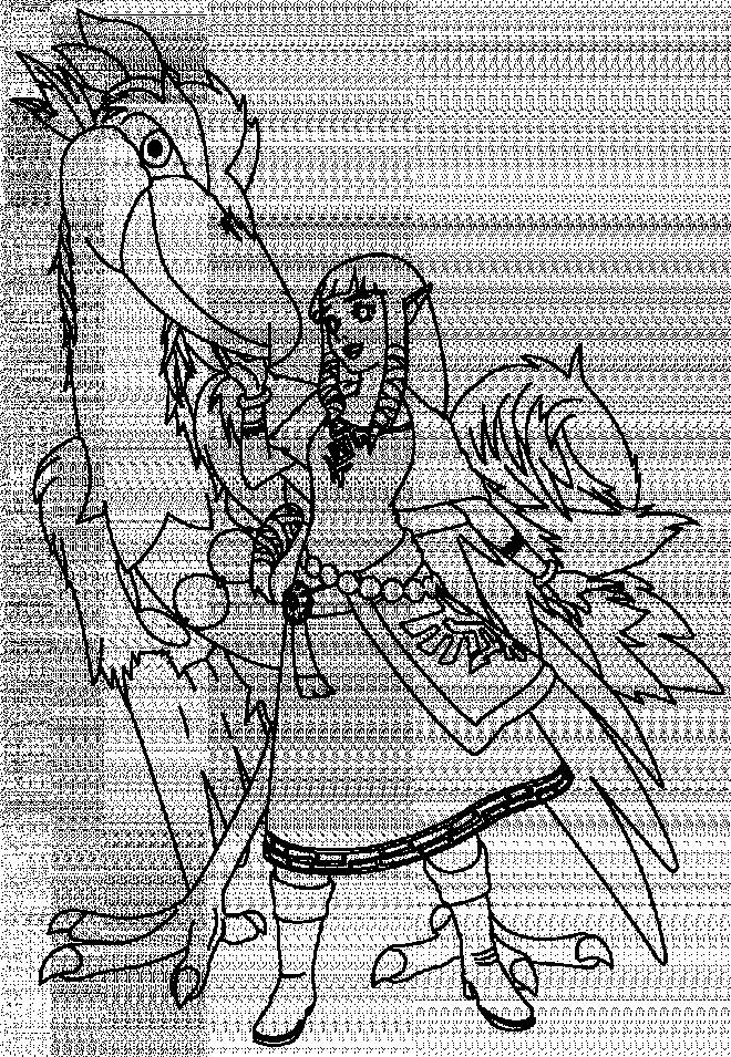 Free coloring and drawings Zelda Nintendo Video Game Coloring page