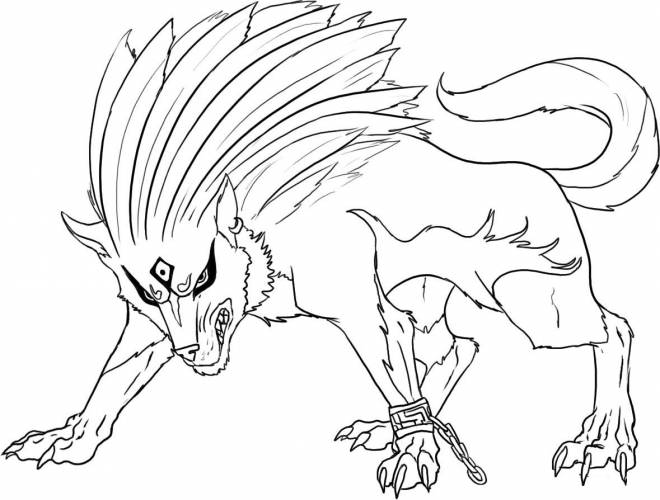 Free coloring and drawings Zelda Twilight Princess Series Coloring page