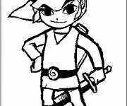 Coloring pages Zelda Video game