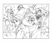 Coloring pages Zelda Video Game Characters