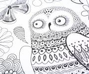 Coloring pages Anti-Stress Animals and Nature