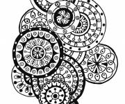 Coloring pages Inspiration Zen and vector