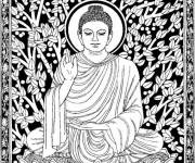 Coloring pages Inspiration Zen Buddha