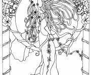 Coloring pages Inspiration Zen L'existence
