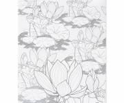 Coloring pages Stylized Zen flower inspiration