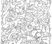 Coloring pages Adult Maternal Anti Stress