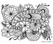Coloring pages Adult Roses