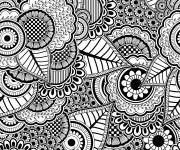 Coloring pages Difficult Stress
