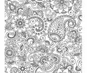 Coloring pages Stressful adult