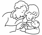 Coloring pages Easy baptism