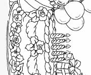 Coloring pages Children's birthday