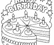 Coloring pages Color birthday