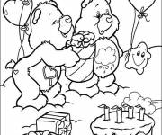 Coloring pages Magical birthday