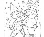 Coloring pages Carnival for children