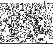 Coloring pages Fun carnival