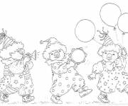Free coloring and drawings Magic Carnival Coloring page