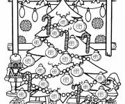 Free coloring and drawings Drawing my beautiful tree Coloring page