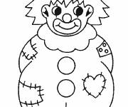 Coloring pages Maternal clowns