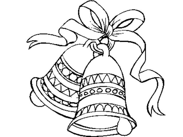 Free coloring and drawings Easter bell Coloring page