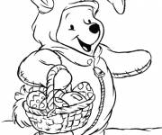 Coloring pages Easter costume