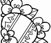 Free coloring and drawings Easter in color Coloring page