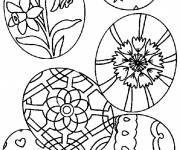 Coloring pages Easter to celebrate