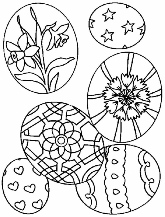 Free coloring and drawings Easter to celebrate Coloring page