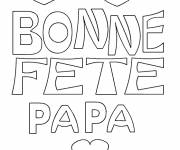 Coloring pages Father's Day to download