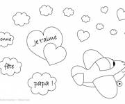 Coloring pages Magical Father's Day