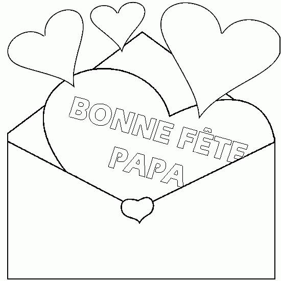 Free coloring and drawings Online Father's Day Coloring page