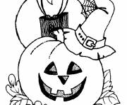 Free coloring and drawings Easy pumpkin drawing Coloring page