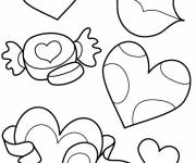 Coloring pages Easy Mother's Day
