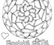 Coloring pages Maternal mother's day