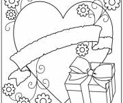 Free coloring and drawings Mother's Day coloring Coloring page