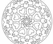 Coloring pages Mother's Day mandala