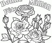 Free coloring and drawings Mother's Day online Coloring page
