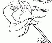 Free coloring and drawings Mothers Day Coloring page