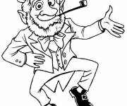 Coloring pages St. Patrick's Day in color